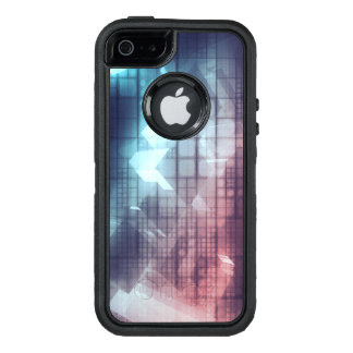 Analytics Technology with Data Moving OtterBox Defender iPhone Case