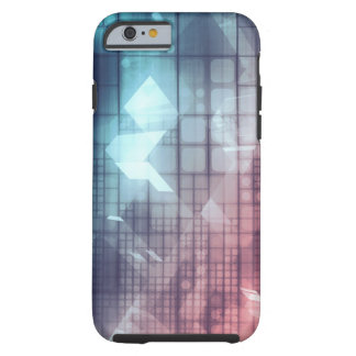 Analytics Technology with Data Moving Tough iPhone 6 Case