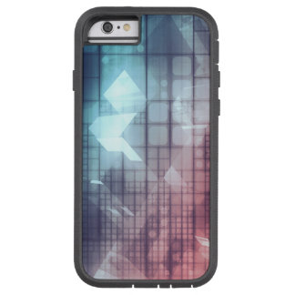 Analytics Technology with Data Moving Tough Xtreme iPhone 6 Case