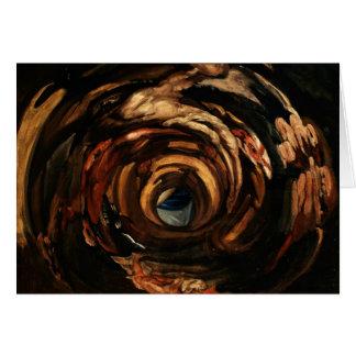 Anamorphosis of Rubens Card
