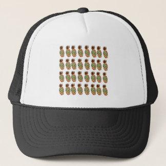Ananases on white Design Ethno Trucker Hat