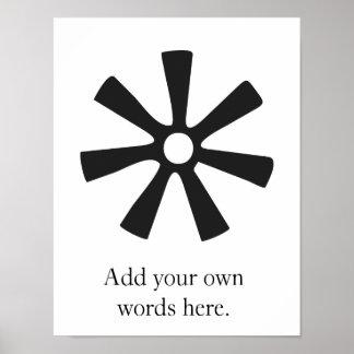ANANSE NTONTAN | Symbol of Wisdom, Creativity Poster