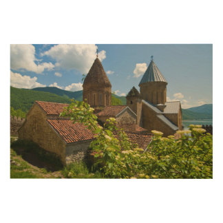 Ananuri Fortress Scenic Wood Wall Art