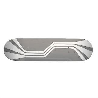 Anaphase (Grey) Skateboard Deck
