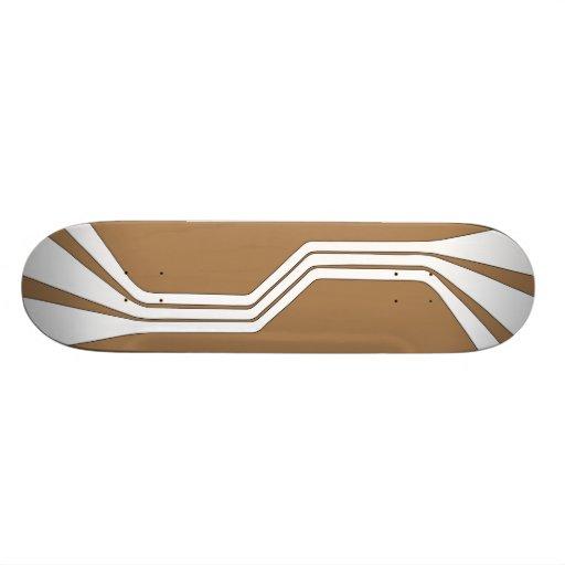 Anaphase (Tan) Skateboard Deck