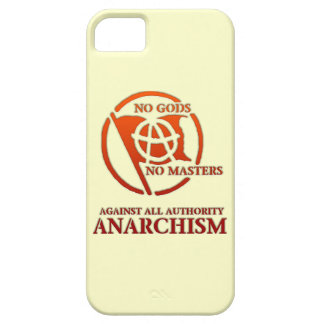 ANARCHISM BARELY THERE iPhone 5 CASE