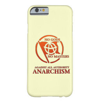 ANARCHISM iPhone 6 CASE
