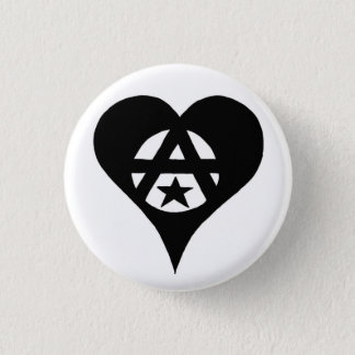 Anarchist 3 Cm Round Badge