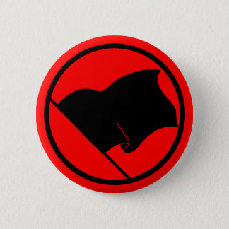 Anarchist Black Flag button