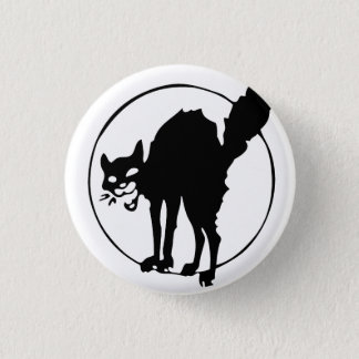 Anarchist Cat 3 Cm Round Badge