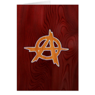 Anarchist Inlay Card