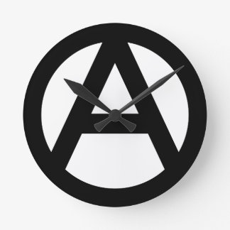 Anarchist Round Clock