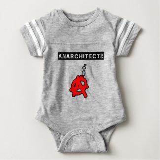 Anarchitecte - Word games - François City Baby Bodysuit
