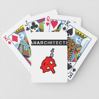 Anarchitecte - Word games - François City Bicycle Playing Cards
