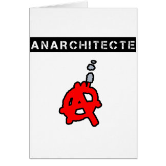 Anarchitecte - Word games - François City Card