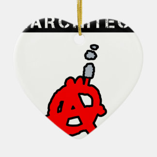 Anarchitecte - Word games - François City Ceramic Ornament