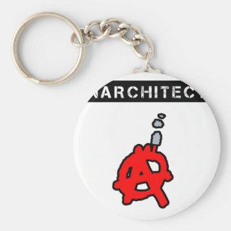Anarchitecte - Word games - François City Key Ring