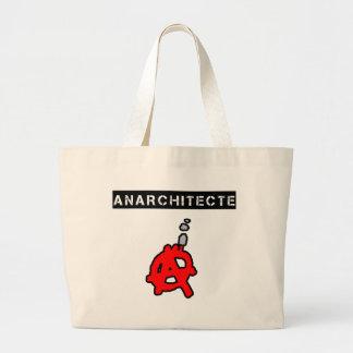 Anarchitecte - Word games - François City Large Tote Bag