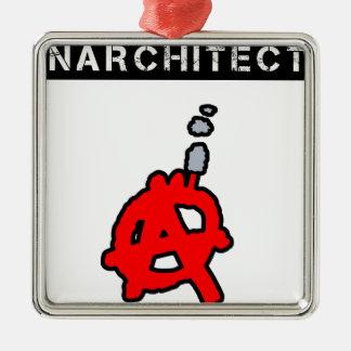 Anarchitecte - Word games - François City Metal Ornament