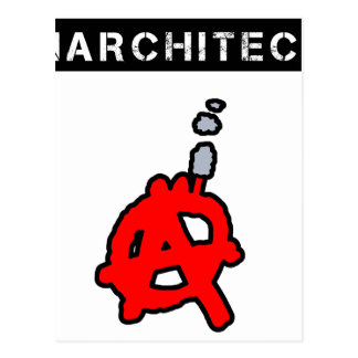 Anarchitecte - Word games - François City Postcard