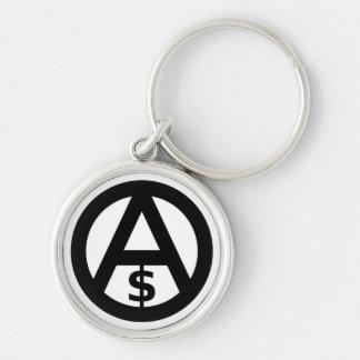Anarcho Capitalism Keychain