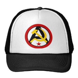 Anarcho-communist logo cap
