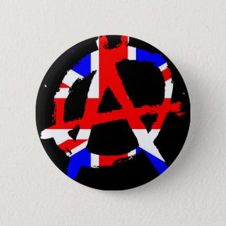 Anarchy #1 6 cm round badge