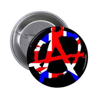 Anarchy #1 6 cm round badge