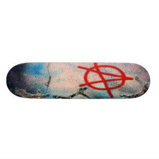 anarchy 21.6 cm skateboard deck