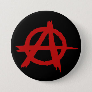 Anarchy 7.5 Cm Round Badge