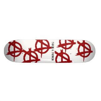 Anarchy Anarchy Anarchy Skate Board Deck