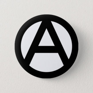 Anarchy anarchy PUNK non government principle flat 6 Cm Round Badge