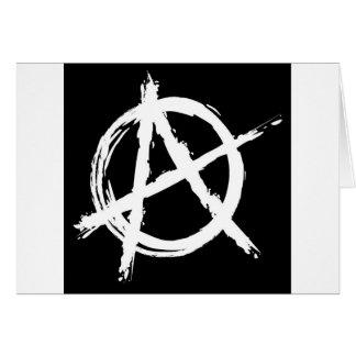 Anarchy Greeting Card