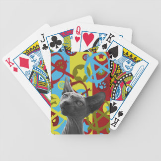 Anarchy Cat Bicycle Playing Cards