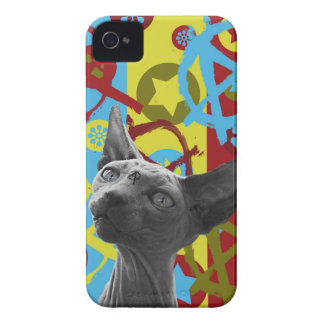 Anarchy Cat iPhone 4 Case-Mate Cases
