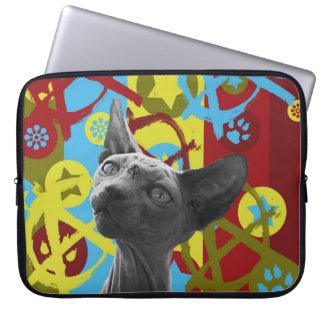 Anarchy Cat Laptop Sleeve