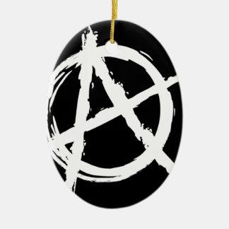 Anarchy Ceramic Oval Decoration