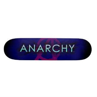 Anarchy Corona - Blue 21.6 Cm Old School Skateboard Deck