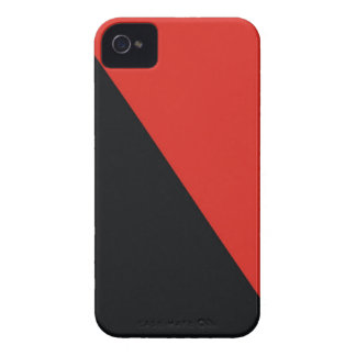 anarchy flag red black iPhone 4 cover