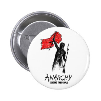 Anarchy Leading the People 6 Cm Round Badge
