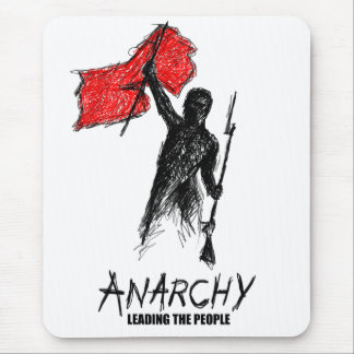 Anarchy Leading the People Mouse Pad