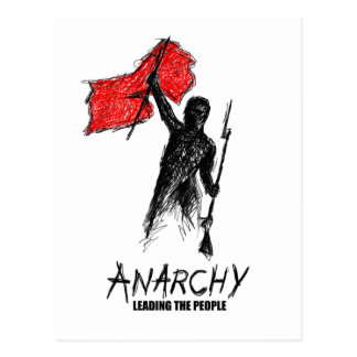 Anarchy Leading the People Postcard