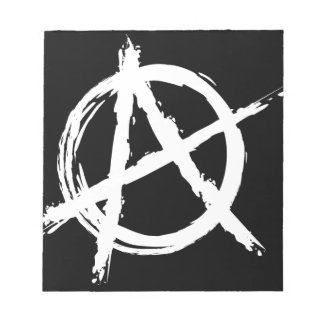 Anarchy Memo Notepads