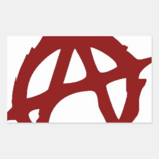 Anarchy - ONE:Print Rectangular Sticker