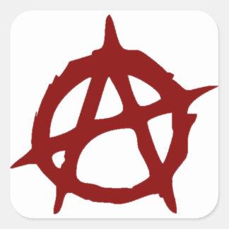 Anarchy - ONE:Print Square Sticker
