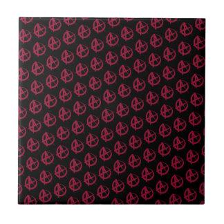 Anarchy Pattern Ceramic Tile