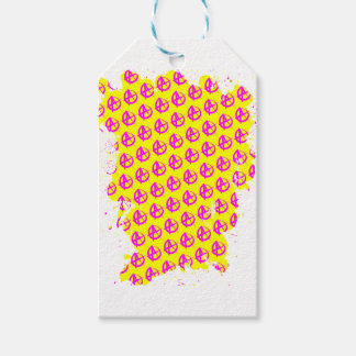 Anarchy Pattern Gift Tags
