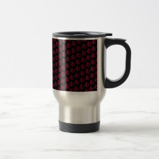 Anarchy Pattern Travel Mug