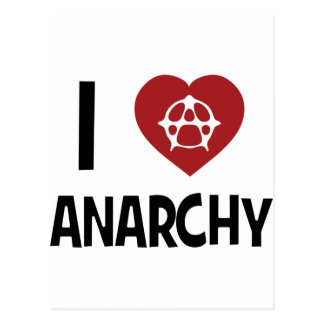 Anarchy ! postcard