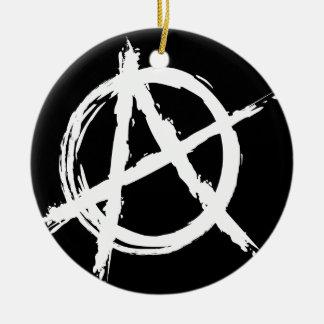 Anarchy Round Ceramic Decoration